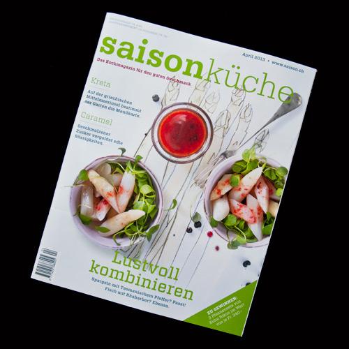 stefanie beyeler, illustratorin: auftrÄge - Saison Küche